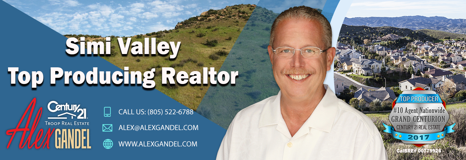 Alex Gandel's Blog for Real Estate in Simi Valley